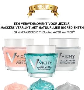 Vichy nieuwe maskers van 75ml